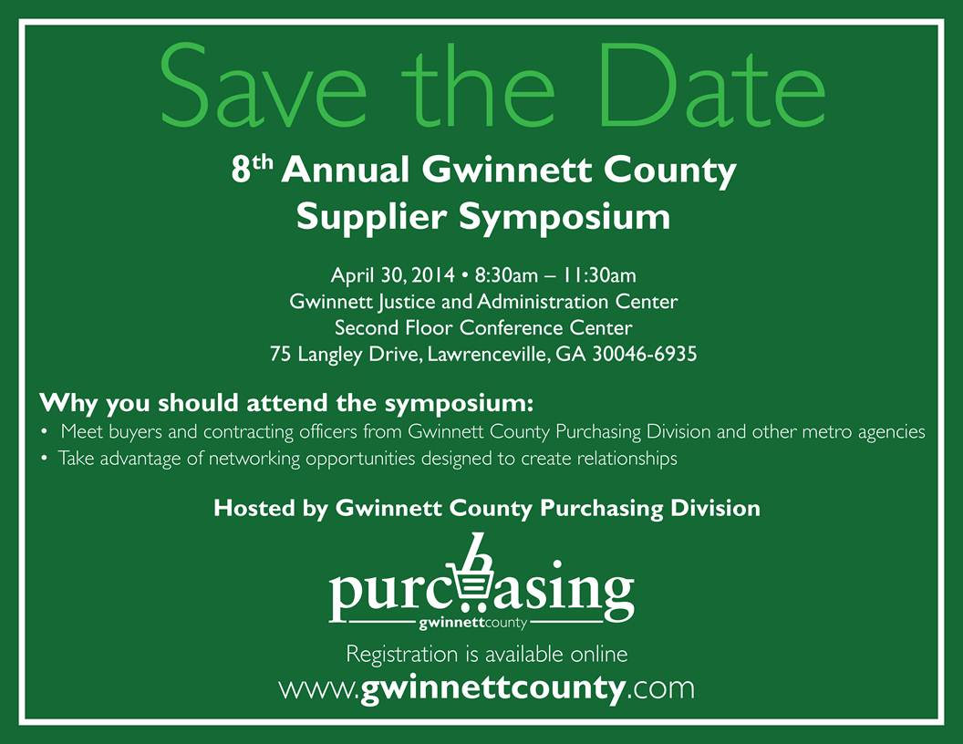 Gwinnett Purchasing Symposium
