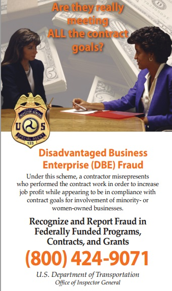 DBE Fraud Hotline