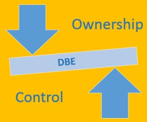 DBE ownership and control