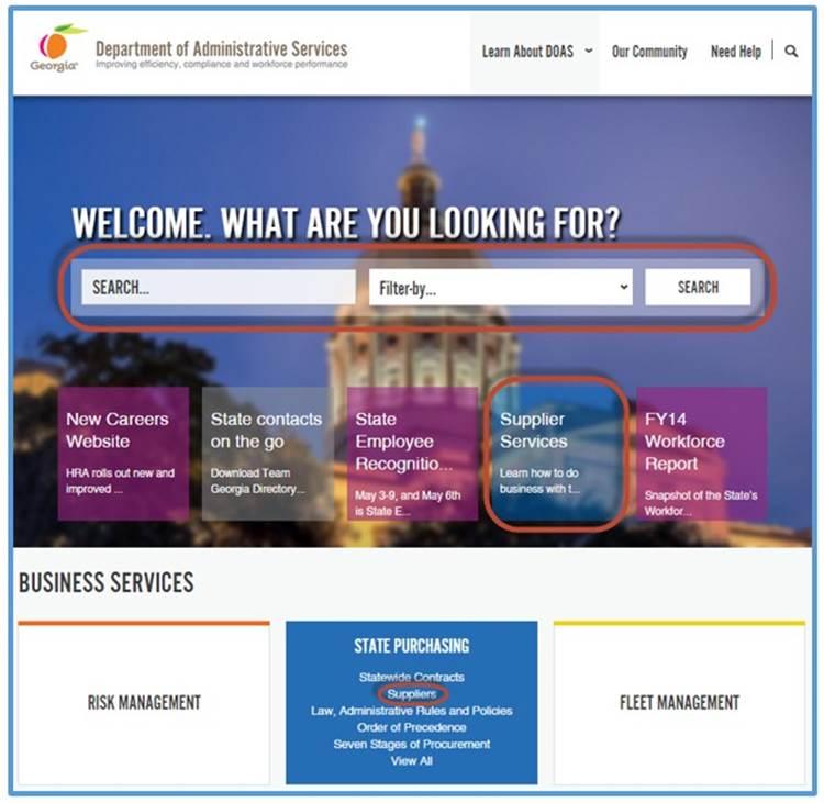 DOAS Website 05.2015