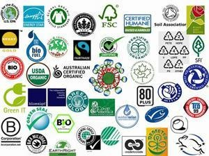 """Ecolabels"" identify overall, proven environmental preference of a product or service within a specific product/service category.  In contrast to ""green"" symbols, or claim statements developed by manufacturers and service providers, the most credible labels are based on life cycle considerations; they are awarded by an impartial third-party in relation to certain products or services that are independently determined to meet transparent environmental leadership criteria."