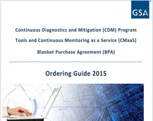 CDM Ordering Guide - GSA 2015