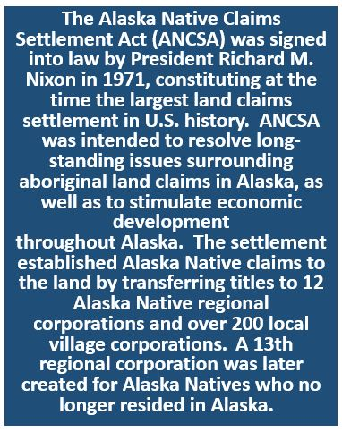 Alaska Native Claims Settlement Act