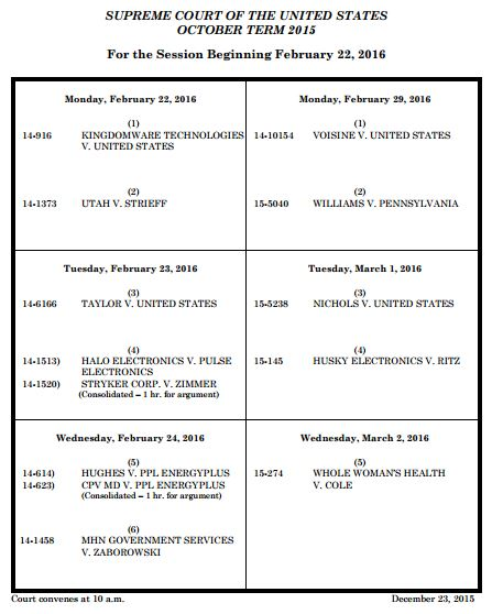 Supreme Court docket