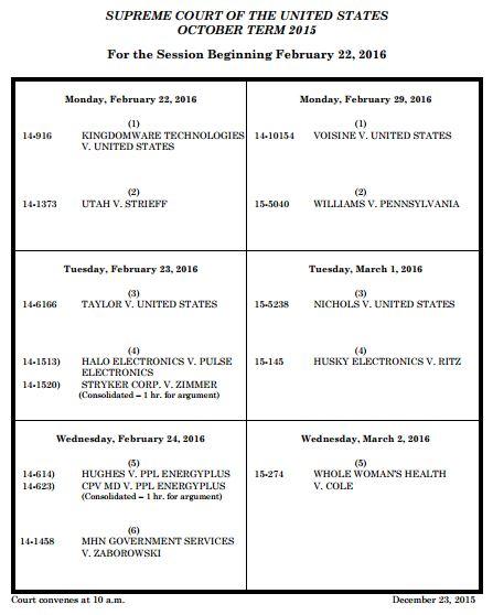 Supreme Court docket