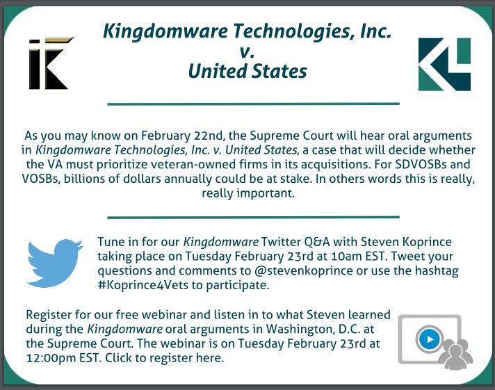 Kingdomware Koprince