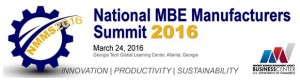 National MBE Manufacturers Summit