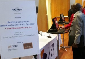 The Atlanta chapter of the National Contract Management Association sponsored the Jan. 28th event, including sponsorship of the technology used to manage it.