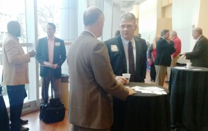 Industry and government representatives were able to exchange credentials and opportunities with one another during networking breaks and over lunch.