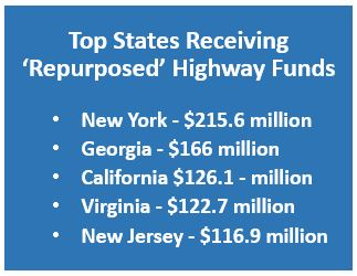 Repurposed Highway Funds 2016