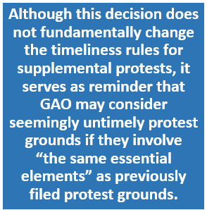 Protest Timeliness