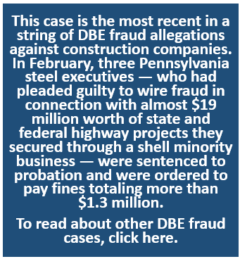 DBE Fraud