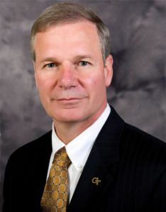 "G.P. ""Bud"" Peterson is the eleventh president of Georgia Tech."