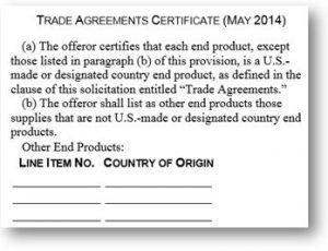 Buy American Act | Georgia Tech Procurement Assistance Center
