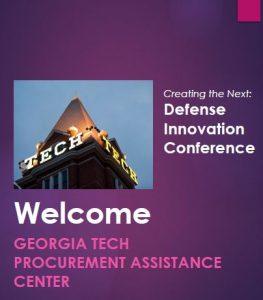 GTPAC | Georgia Tech Procurement Assistance Center