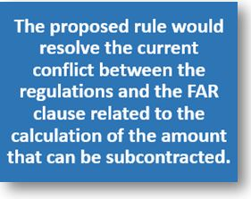 DoD makes immediate change to limitations on subcontracting