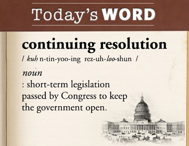 continuing-resolution-the-white-house