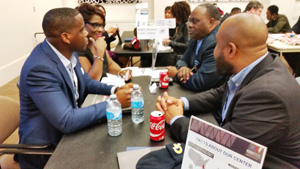 Participants got a chance to learn about the services offered by the MBDA Business Center at Georgia Tech.