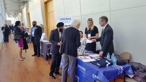 Attendees got a chance to learn about the benefits of membership from NCMA representatives.