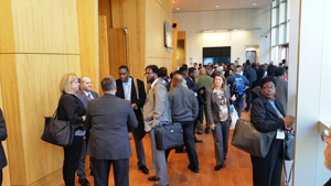Vendors and government buyers got a chance to mingle and network at the Jan. 24 GTPAC-hosted event.